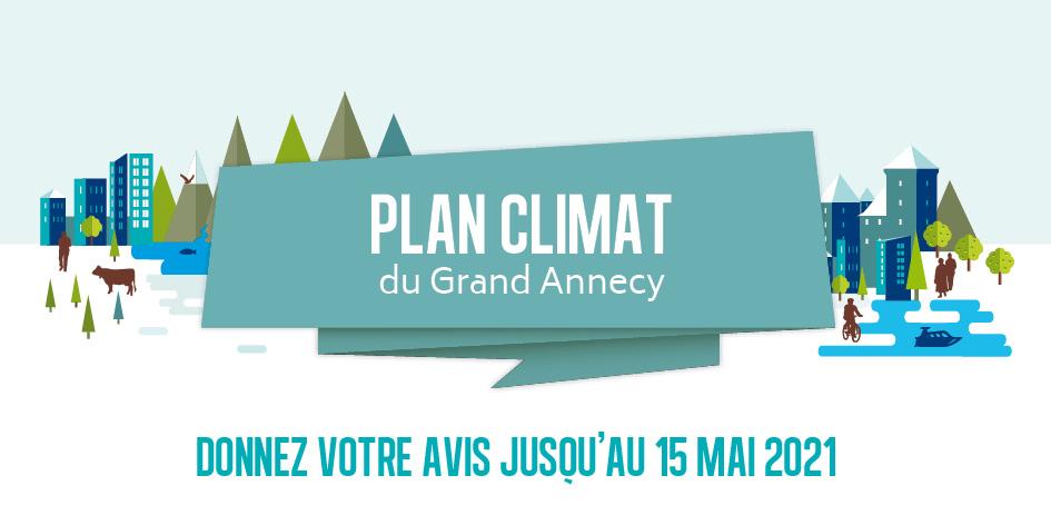 Plan Climat du Grand Annecy : consultation publique jusqu'au 15 mai 2021