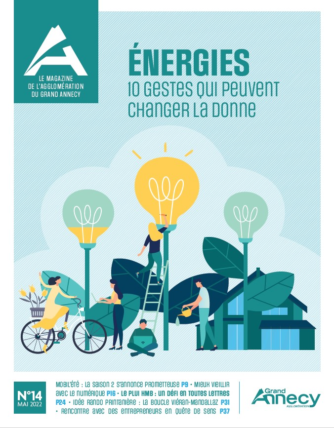 Grand Annecy magazine n°7<br>avril 2019